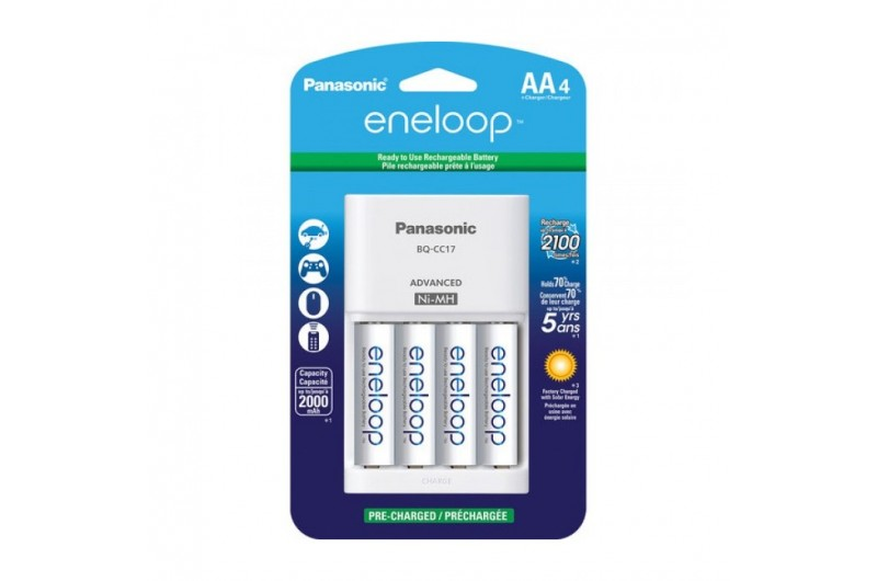Panasonic Enoloop 1,2 V AA 1900 mAh akumulátor (4ks)